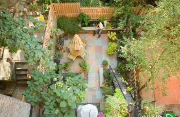 طراحی حیاط و بالکن