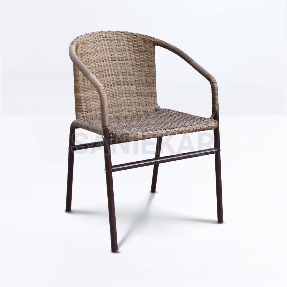 صندلی حصیری رستوران و باغی و ویلایی و فضای باز - مدل آمیتیس