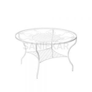 مبلمان باغی و مبلمان ویلایی صنیع کار - میز مدل مهتاب
