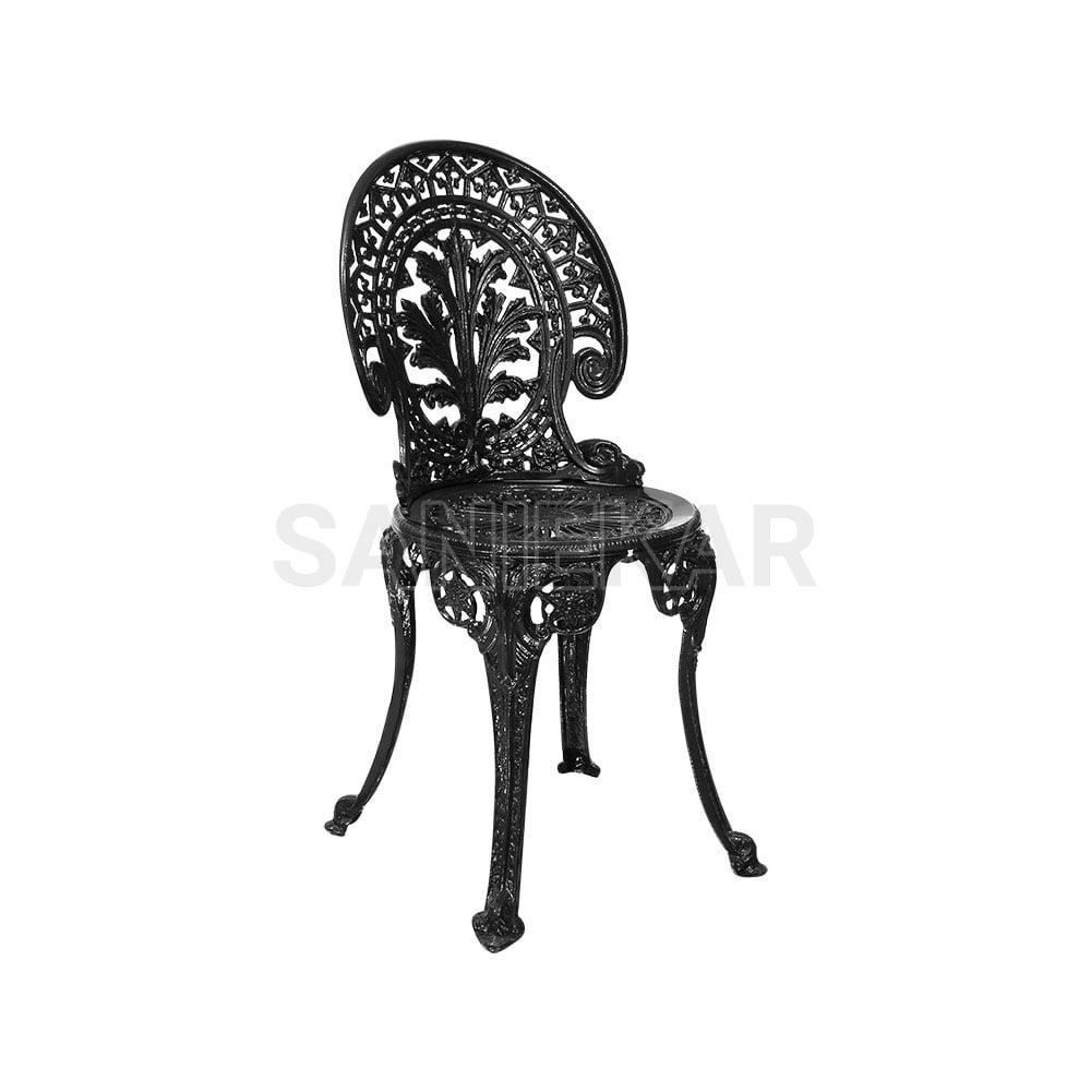 صندلی آلومینیومی باغی مدل طاووسی