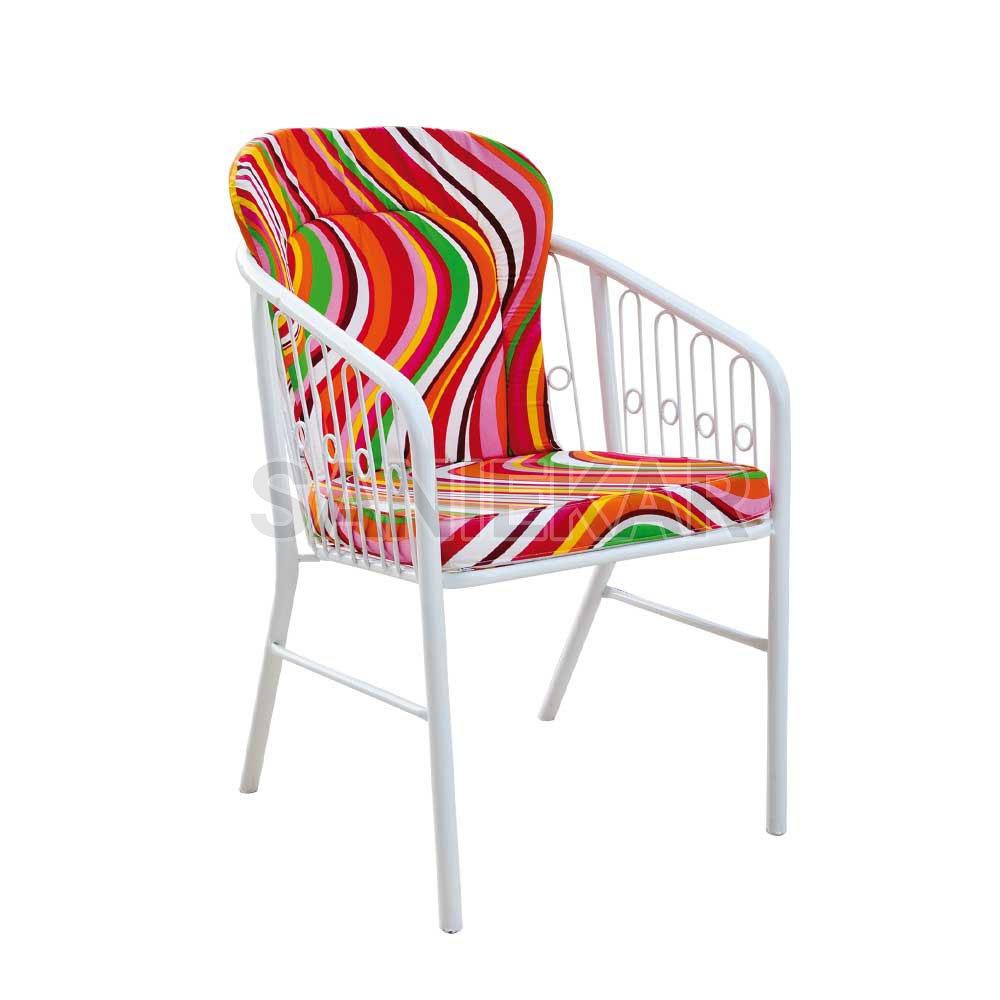 صندلی فلزی تراس - مبلمان باغی - مبلمان ویلایی صنیع کار