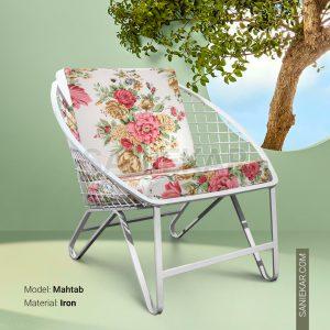 مبلمان باغی و مبلمان ویلایی صنیع کار - صندلی فضای باز مدل مهتاب