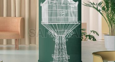 قفس پرنده طوطی قناری هلندی بلبل